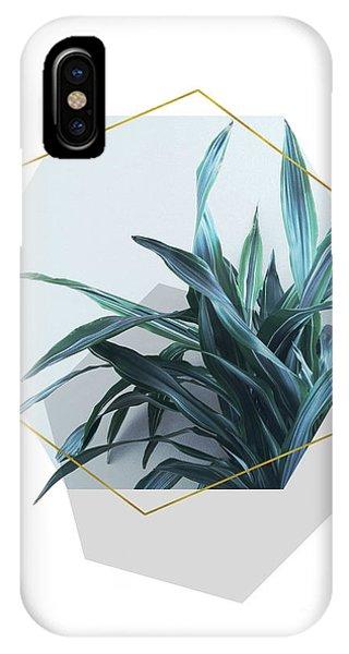 Geometric Jungle IPhone Case