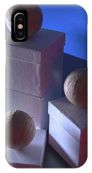 IPhone Case featuring the photograph Geometric Triad by Break The Silhouette