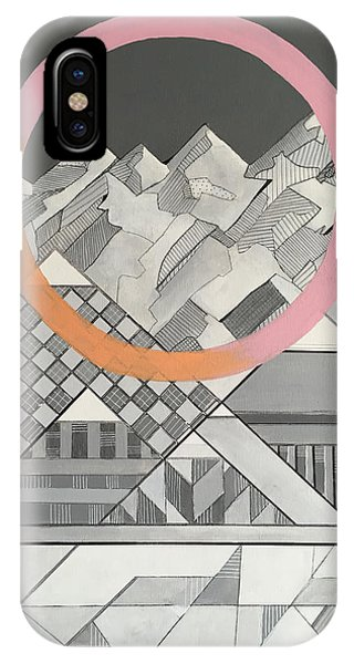 Geometry's Mountain IPhone Case