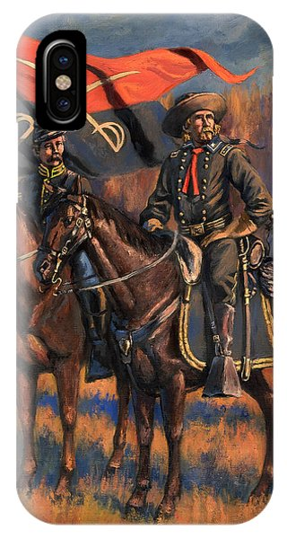 George Armstrong Custer Phone Case by Mark Maritato