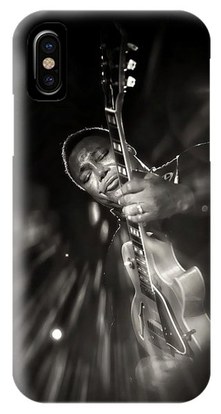 George Benson Black And White IPhone Case