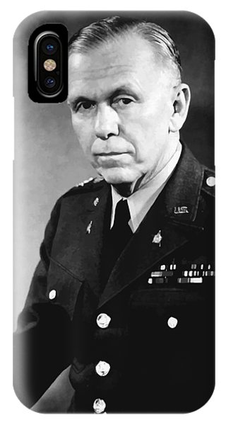 Nobel iPhone Case - George Marshall by War Is Hell Store