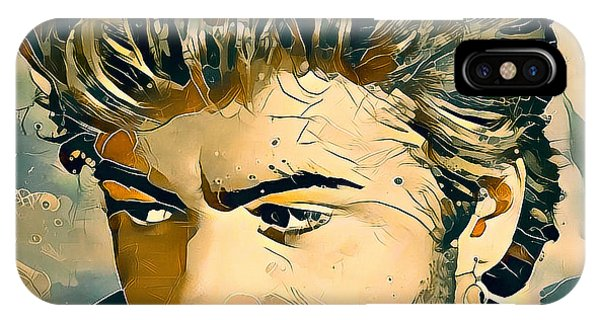 Tribute iPhone Case - George Michael Tribute 7 by Yury Malkov