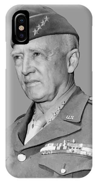 George iPhone Case - George S. Patton by War Is Hell Store