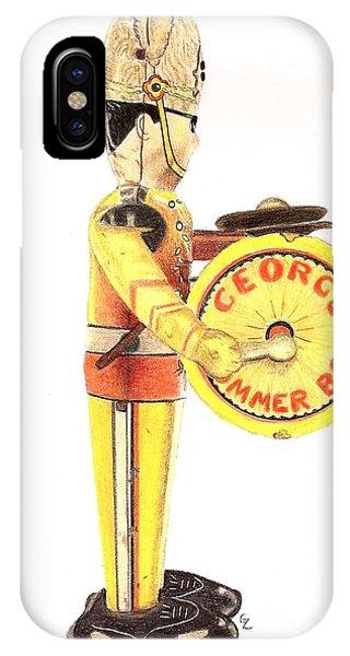 George The Drummer Boy IPhone Case