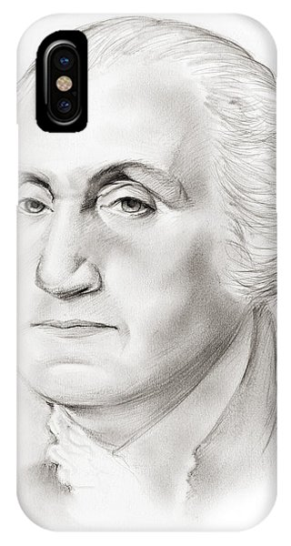 United States Presidents iPhone Case - George Washington by Greg Joens