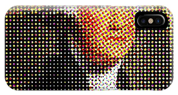 George Washington In Dots  IPhone Case
