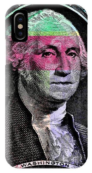 George Washington Pop Art IPhone Case