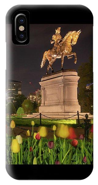 George Washington Standing Guard IPhone Case
