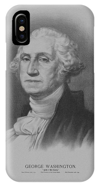 Washington iPhone Case - George Washington by War Is Hell Store