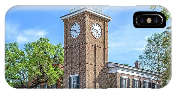 Georgetown Clock Tower IPhone Case
