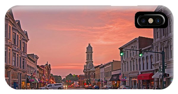 Georgetown Kentucky IPhone Case