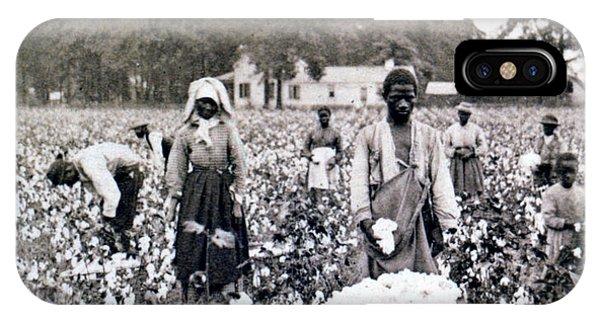 Georgia Cotton Field - C 1898 IPhone Case