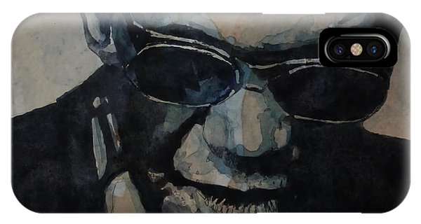 Georgia On My Mind - Ray Charles  IPhone Case
