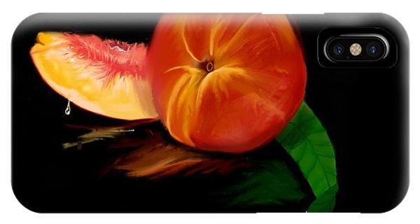 Georgia Peach IPhone Case