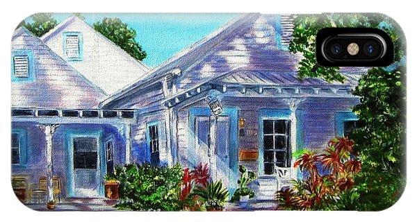 Georgia Street, Key West IPhone Case