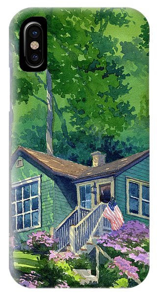 Georgia Townsend House IPhone Case