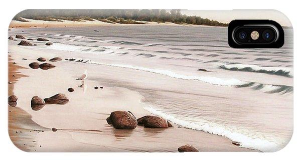 Georgian Bay Beach IPhone Case