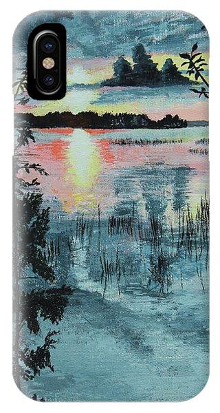 Georgian Bay Sunset IPhone Case