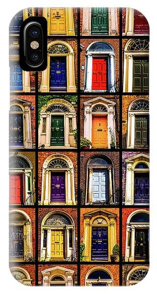 Georgian Doors Of Dublin 3 IPhone Case