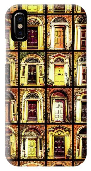 Georgian Doors Of Dublin 4 IPhone Case