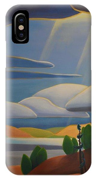 Georgian Shores - Left Panel IPhone Case