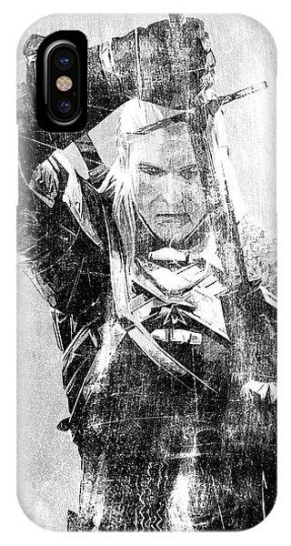 Geralt Of Rivia IPhone Case