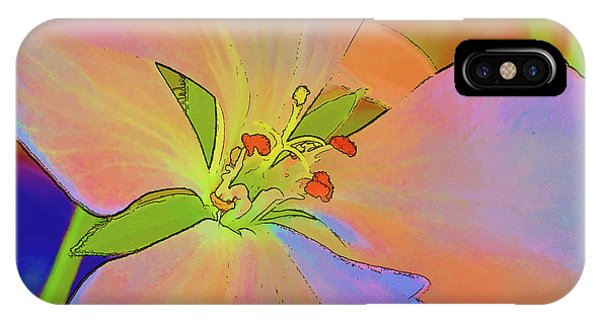 Geranium In Color IPhone Case