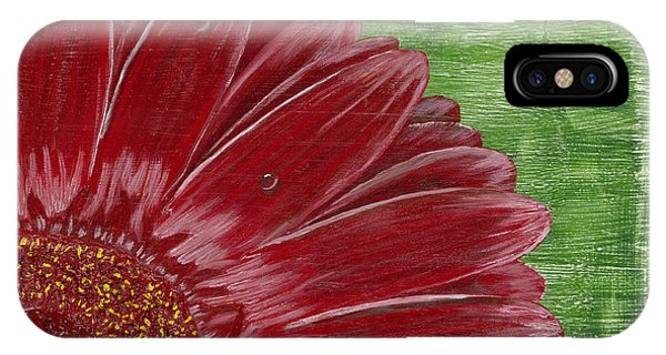 Gerber Daisy- Red IPhone Case