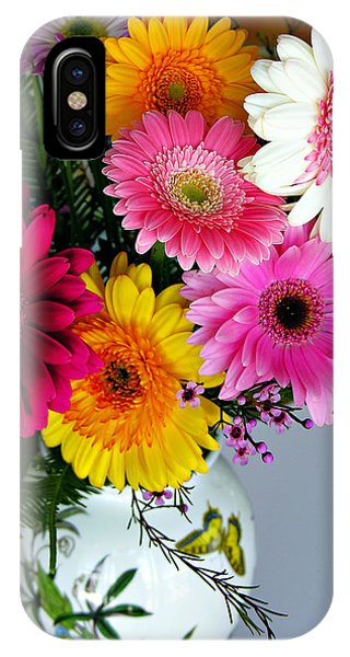 Gerbera Daisy Bouquet IPhone Case