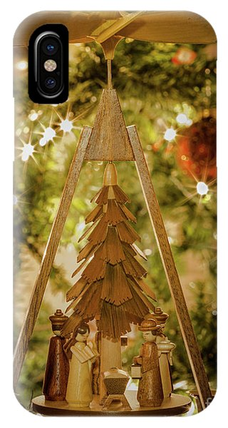 German Christmas Pyramid IPhone Case