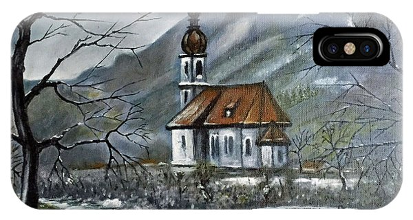 German Church At Ramsau  IPhone Case