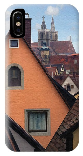 German Rooftops IPhone Case