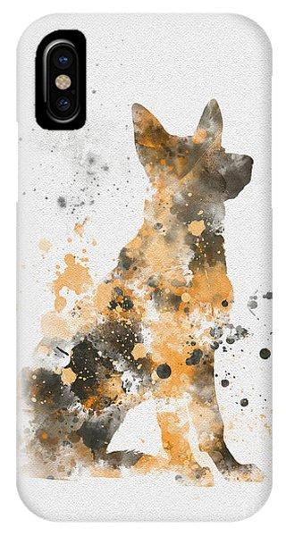 Coat iPhone Case - German Shepherd by My Inspiration