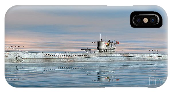 German Submarine U-99 IPhone Case