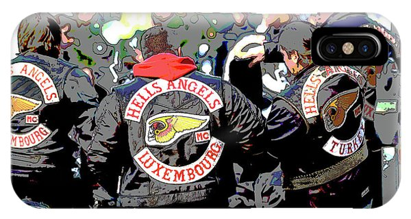 Germany Trial Hell Angels Motorcycle Club IPhone Case