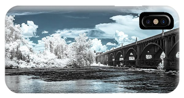 Gervais St. Bridge-infrared IPhone Case