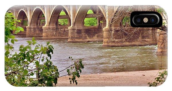 Gervais Street Bridge 2 IPhone Case