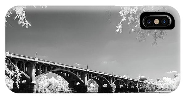 Gervais Street Bridge In Ir1 IPhone Case