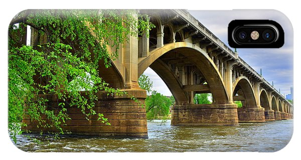 IPhone Case featuring the photograph Gervais Street Bridge by Lisa Wooten