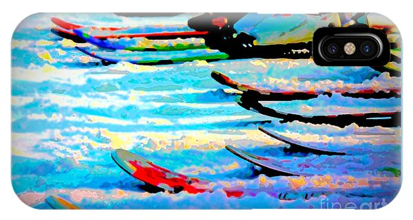 IPhone Case featuring the digital art Get In Line 2017 by Kathryn Strick