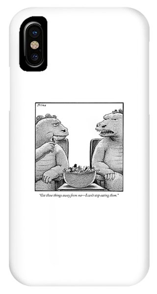 Get Those Things Away From Me IPhone Case