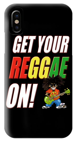 Get Your Reggae On IPhone Case