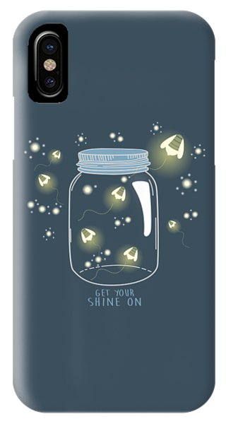 Get Your Shine On IPhone Case