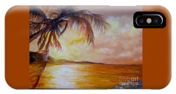IPhone Case featuring the painting Getaway by Saundra Johnson