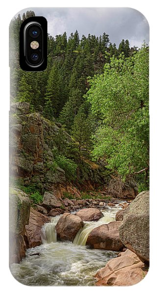 IPhone Case featuring the photograph Getting Lost In A Canyon Creek by James BO Insogna