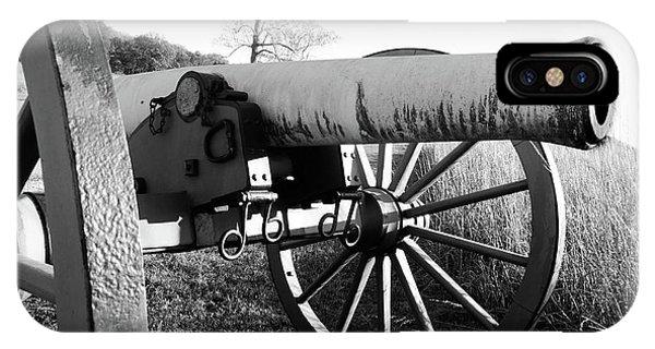 Gettysburg Cannon IPhone Case