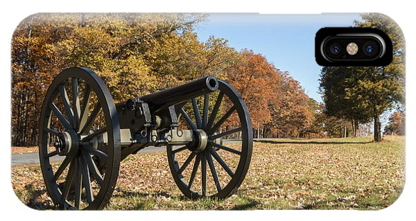 Gettysburg - Cannon In East Cavalry Battlefield IPhone Case