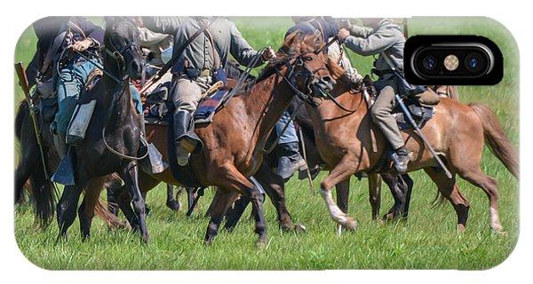 Gettysburg Cavalry Battle 7948c  IPhone Case