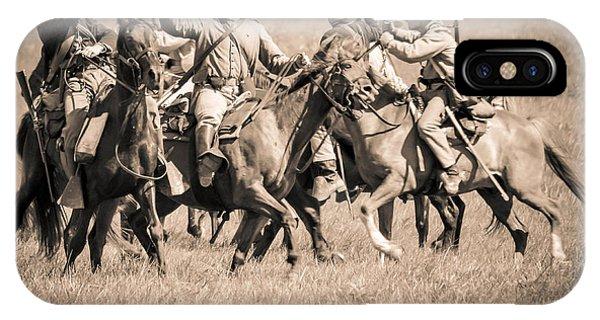Gettysburg Cavalry Battle 7948s  IPhone Case